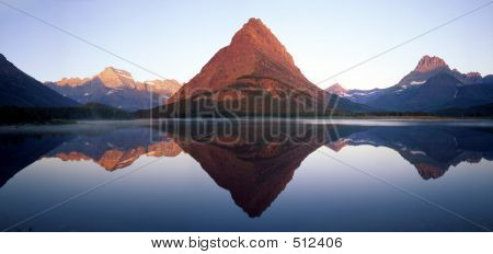 Swiftcurrent Lake Reflection