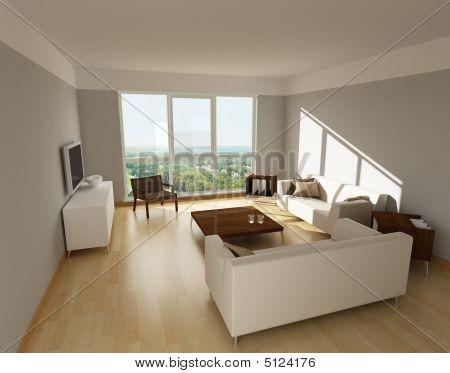 Abbildung aus einem Wohnzimmer