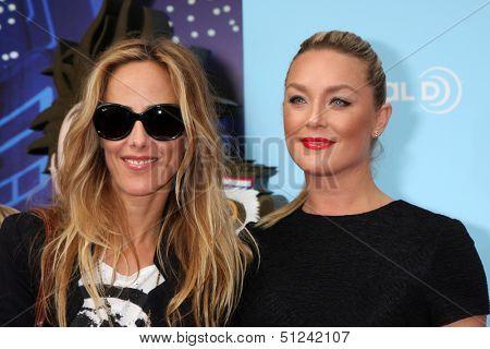 LOS ANGELES - SEP 21:  Kim Raver, Elisabeth Rohm at the