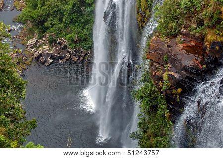 Lisbon waterfall