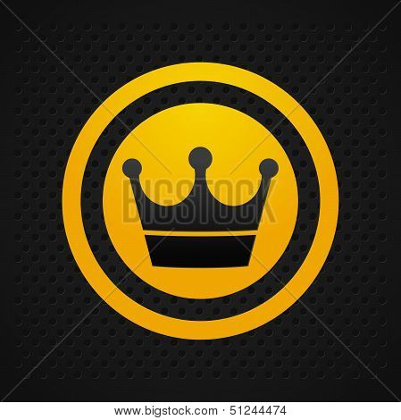 Crown Icon Black