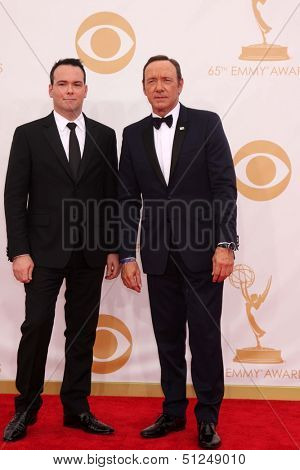 LOS ANGELES - SEP 22:  Kevin Spacey at the  at Nokia Theater on September 22, 2013 in Los Angeles, CA