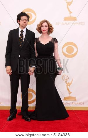 LOS ANGELES - SEP 22:  Christina Hendricks at the  at Nokia Theater on September 22, 2013 in Los Angeles, CA
