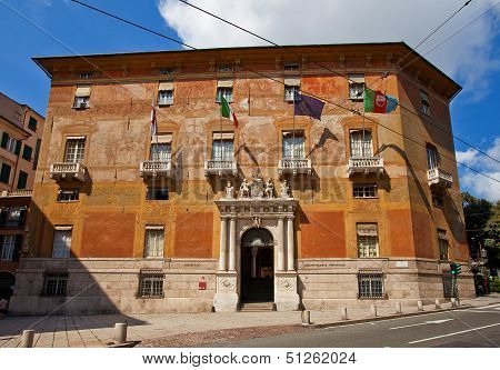 Palazzo Doria-spinola (1543, Unesco Site). Genoa, Italy