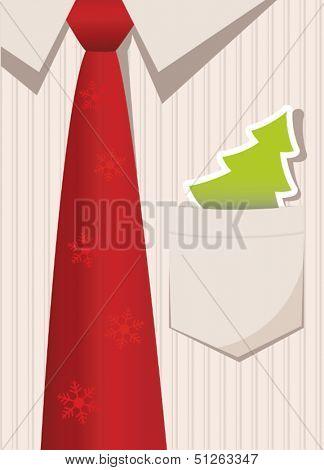 Business Christmas greeting card