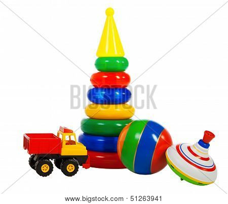 Multi Colored Toys