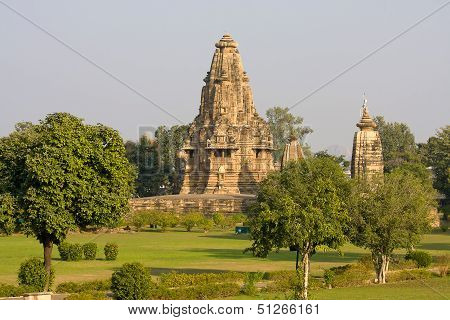 Vishwanatha hindu temple in Khajuraho India.