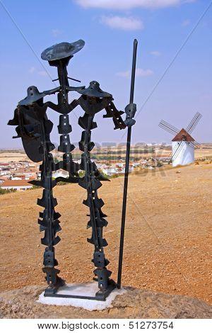 Don Quijote Statue