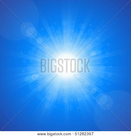 Sun Sky Blue