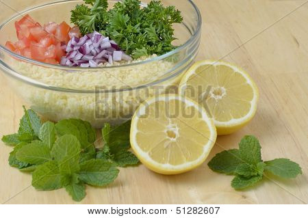 Tabouleh coucous salad