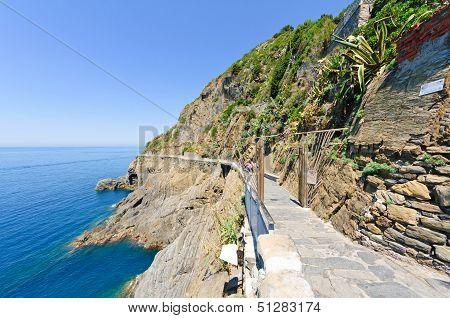 Via dell'amore in Riomaggiore
