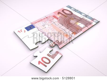 10 Euro Note Puzzle