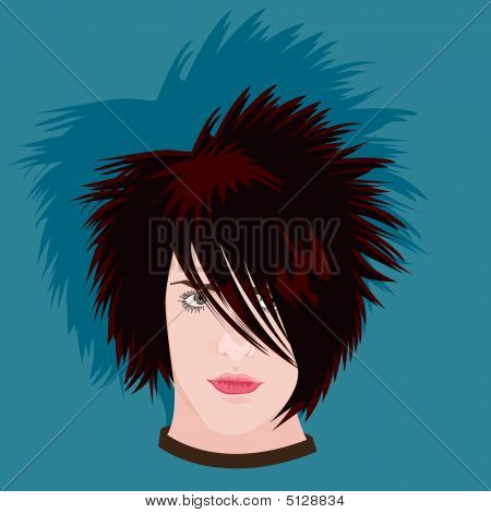 Teenager In Emo Style (xxl)
