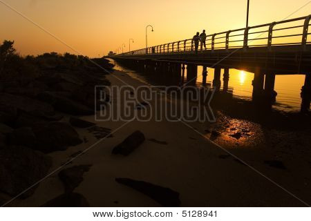 St Kilda Pier And Rocks