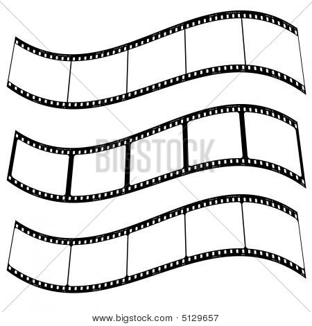 Photo Film Strip Warp