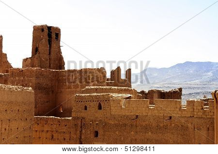 Morocco, Draa Valley, Kasbah Of Tamnougalt