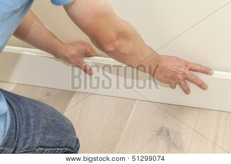 Fitting The Skirting Board
