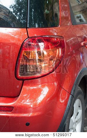 Taillight Of Car