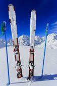 stock photo of apr  - Skiing - JPG