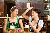 picture of lederhosen  - In Pub  - JPG
