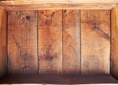 picture of wooden crate  - inside a wooden crate - JPG