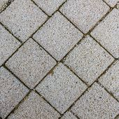 picture of slab  - Paving slabs in the form of squares - JPG