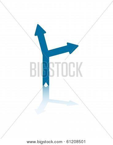 Slanting Arrowheads