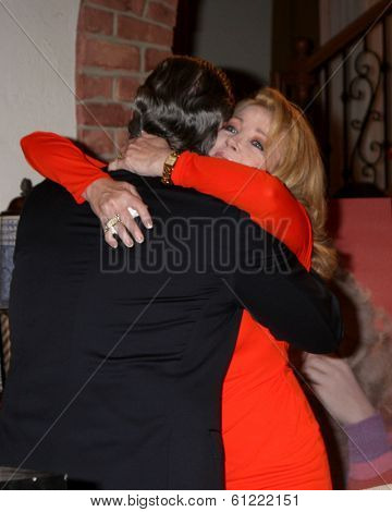 LOS ANGELES - MAR 4:  Eric Braeden, Melody Thomas Scott at the Melody Thomas Scott Celebrates 35 Years at the