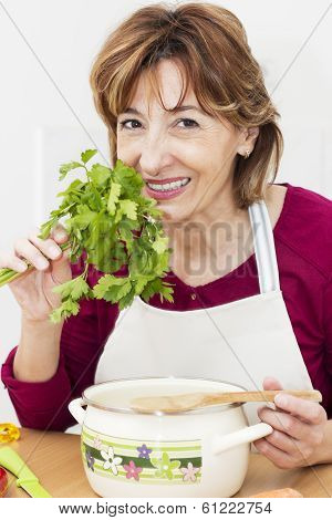 Smelling Parsley