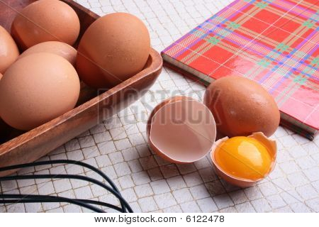 Book For Recipes And Eggs