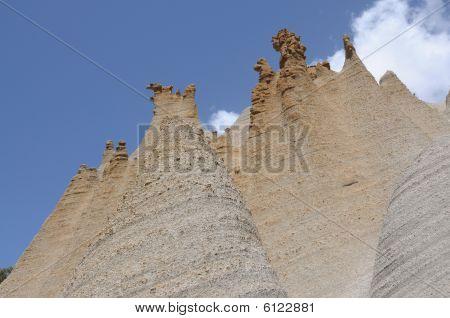 Rock Formations Paisaje Lunar. Tenerife, Spain