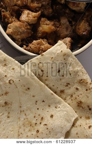 Roomali Roti is a paper-thin flat bread from India