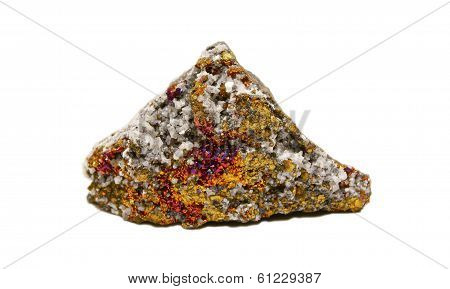 Calcite, Dolomite With Bornite