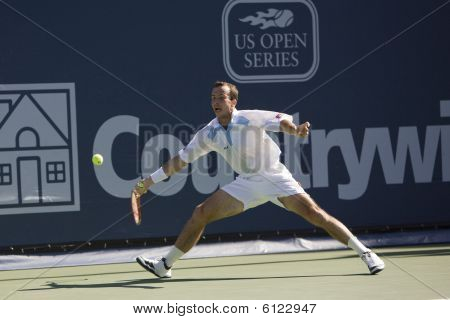Radek Stepanek at the Los Angeles Tennis Open