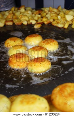 Aloo Tikki Is A North Indian Snack