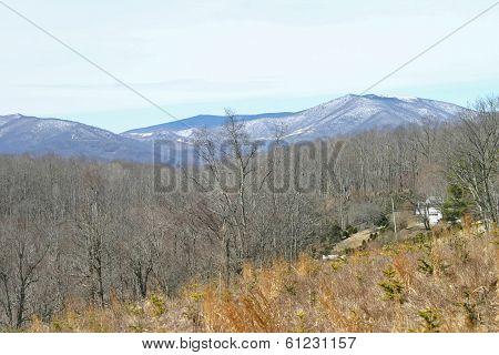 Snow on Distant Mountains