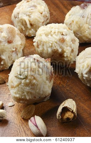 Coconut Laddu from India