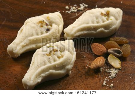 Sandesh - A Bengali sweet dish