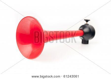 Vehicle horn isolated on white background