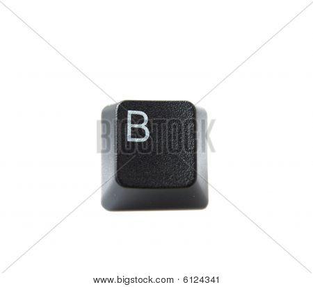 Keyboard Letter B
