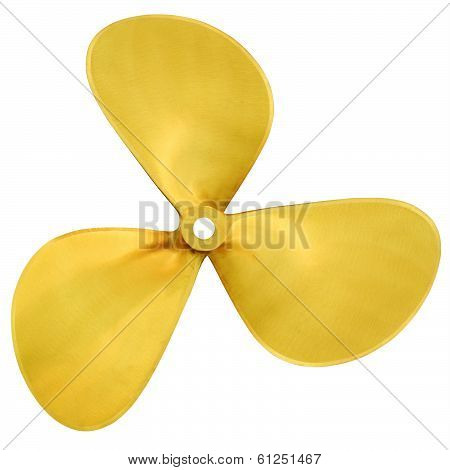 Speedboat Three-bladed Propeller