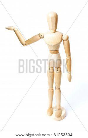 Wooden Dummy Mannequin