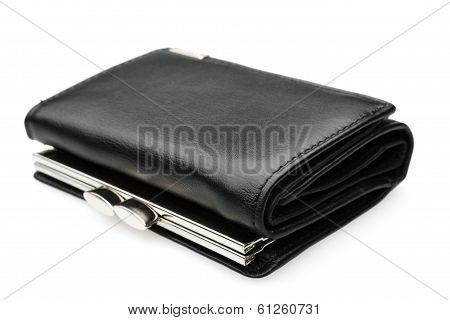 Black Purse - Stock Image