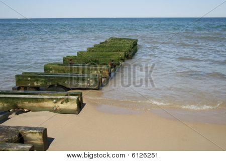 Delaware green beach & ocean