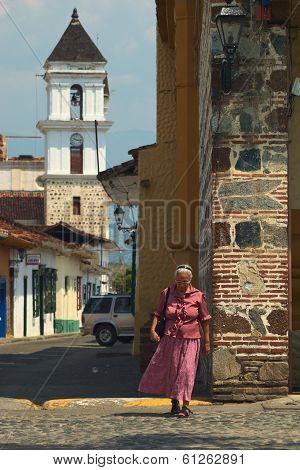 Woman in Santa Fe de Antioquia, Colombia