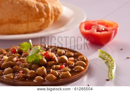 Chole Bhature - A popular dish from North India