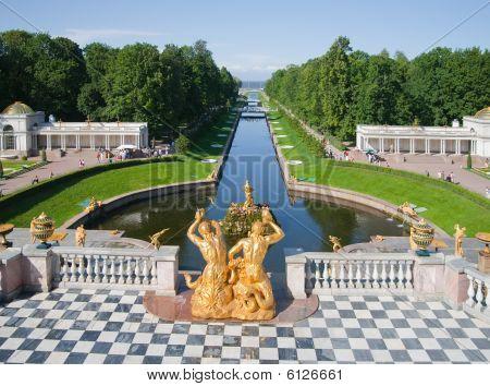 Fontes de Peterhof