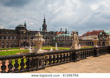 Zwinger Palace, Royal Palace Since 17Th Century