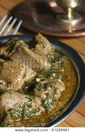 Korma Subzi - Tender diced chicken from India