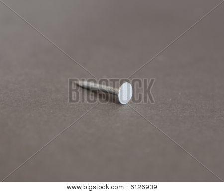 Close Up Of Nail (tool)